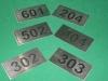 Placas de Identificação 06